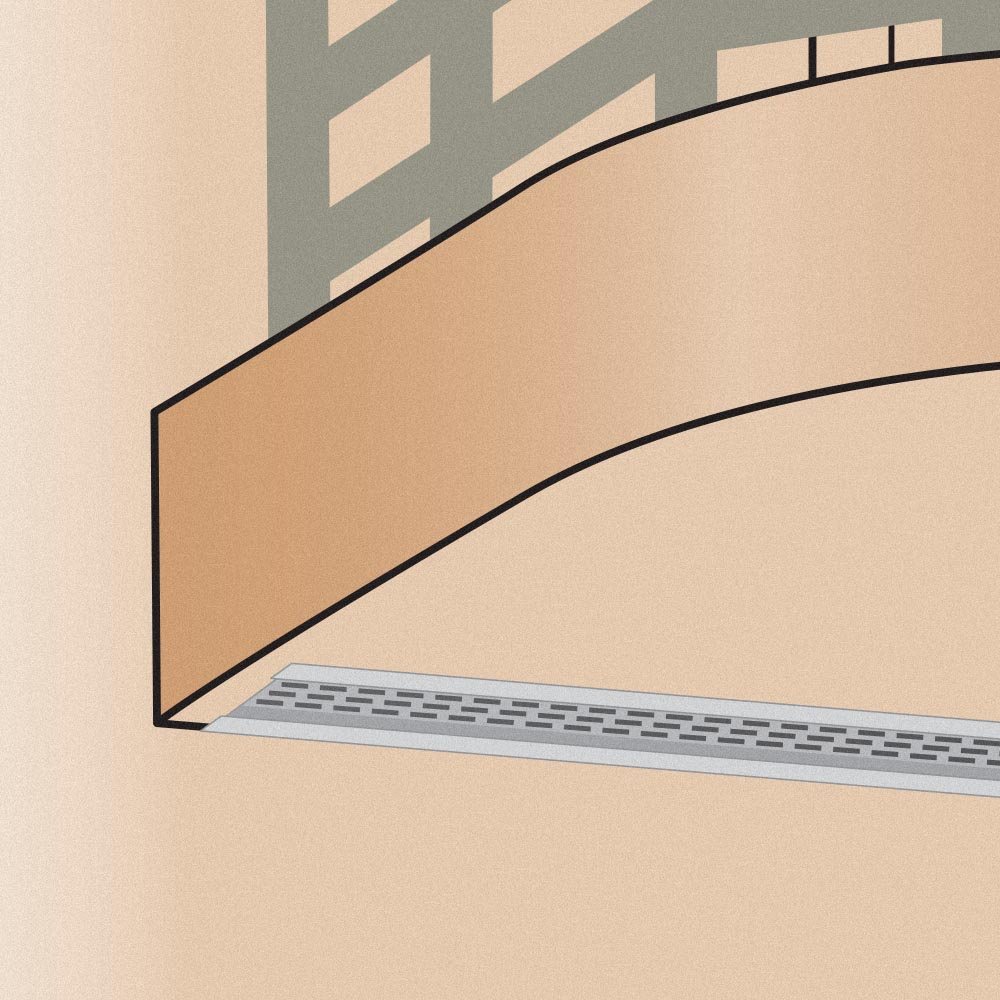 Stockton Products: RBSV - Removable Balcony Soffit Vent
