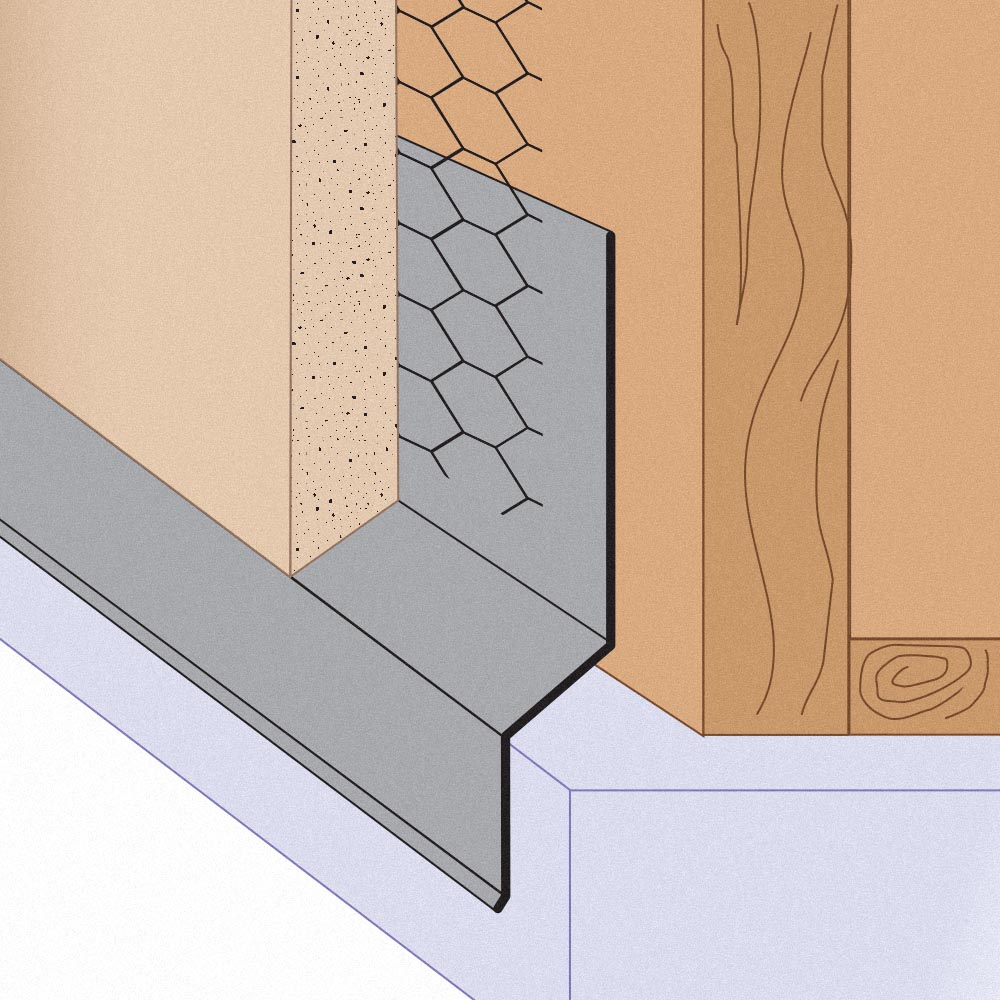 Stockton Products Tsf Transition Step Flashing