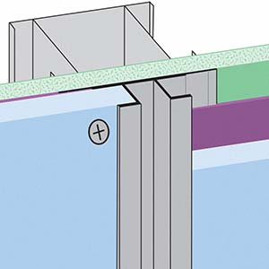 CR-FCP: Channel Reveal for Fiber Cement Panel