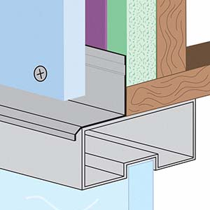 WHD-FCP: Window Head Drip for Fiber Cement Panel